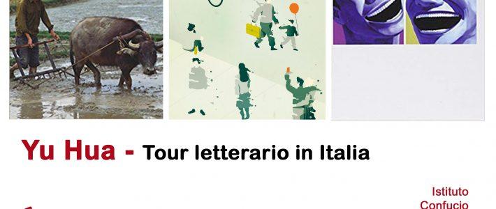 Yu Hua Tour letterario in Italia